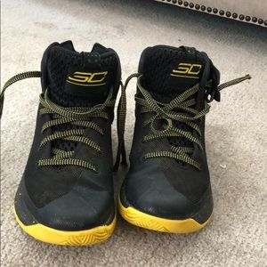 Wardell Steph Curry Under Armour shoes